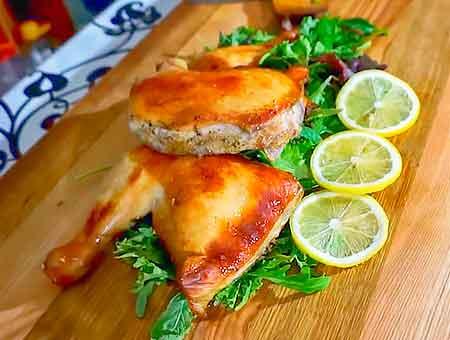 Вкусное куриное блюдо в пивном маринаде