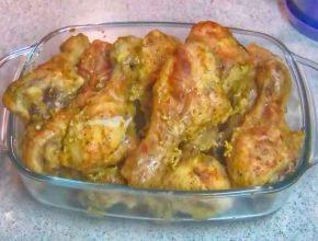 Вкусное куриное мясо а в сметане