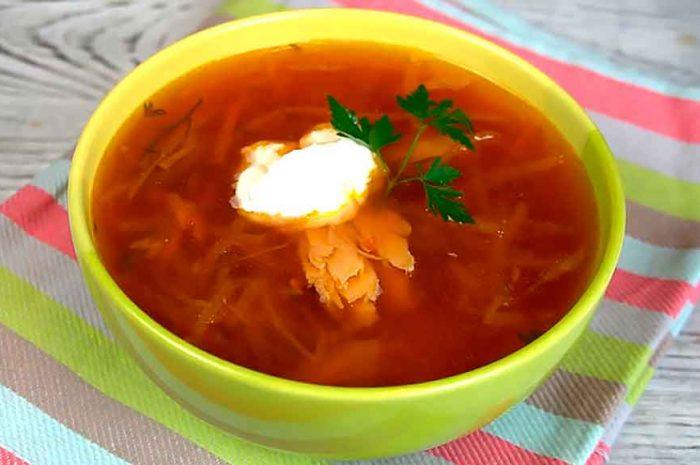 Борщ с курицей в мультиварке, суп со свеклой и капустой