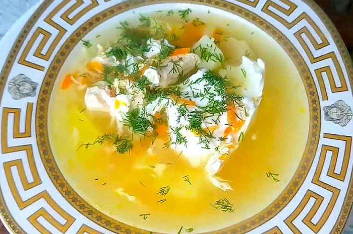Куриный суп с вермишелью, классический вариант