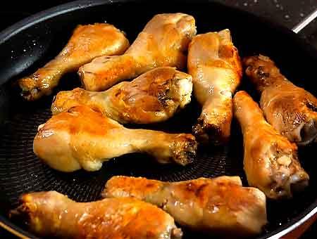 жарим курицу до хрустящей корочки