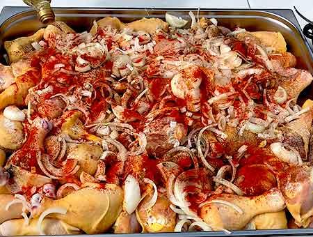 Шашлык из курицы на мангале вкусные рецепты маринада с луком