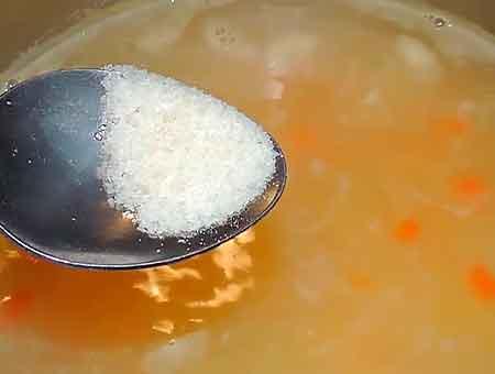 Куриный суп для детей рецепт на курином бульоне