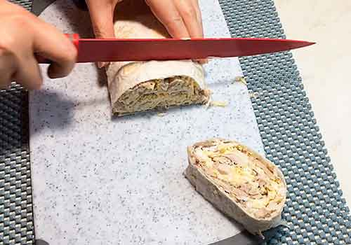 нарезание кольцами