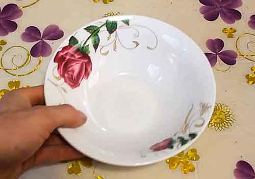 глубокая тарелка для фольги