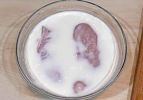 замачивание грудки в молоке