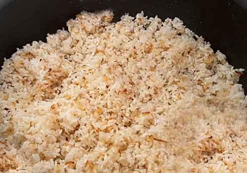 добавление риса